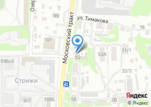 Компания «Тест-Драйв» на карте