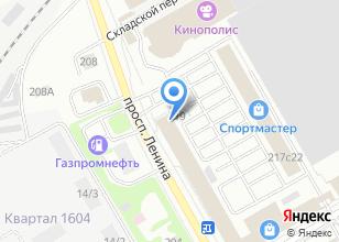 Компания «D-j`s студия» на карте