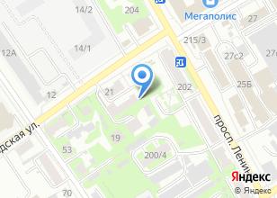 Компания «Полигон» на карте