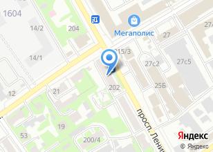 Компания «Форо» на карте