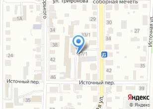 Компания «Металлообработка» на карте