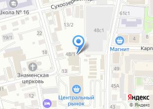 Компания «Maha-Мебель» на карте