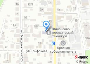 Компания «Отделение дополнительного профессионального образования Томского заочного финансово-юридического института» на карте