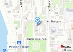 Компания «Астарта мебель» на карте