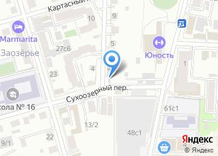Компания «Автостоянка на Сухоозерном переулке» на карте