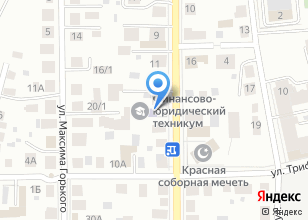 Компания «Томский заочный финансово-юридический институт» на карте