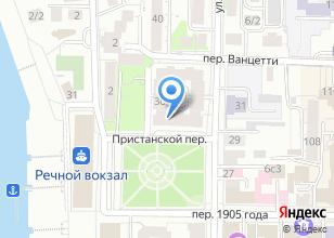 Компания «Альфа-print» на карте