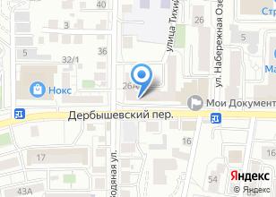 Компания «Компания по изготовлению мебели под заказ» на карте
