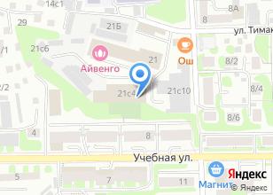 Компания «Форд» на карте