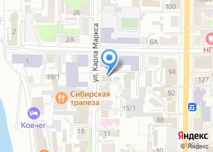 Компания «Строганина-бар» на карте