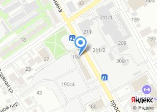 Компания «Бентакс» на карте