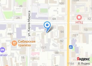 Компания «Ротекс» на карте
