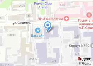 Компания «Медприбор» на карте