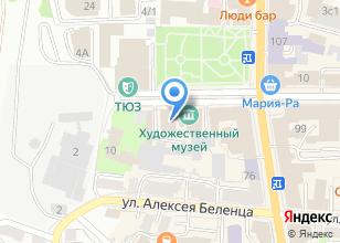 Компания «Томский областной художественный музей» на карте