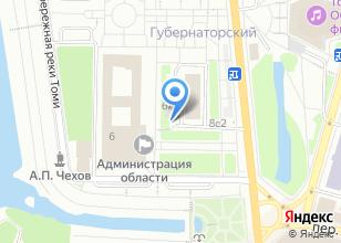 Компания «Областной центр автоматизированных информационных ресурсов Томской области, ОГБУ» на карте