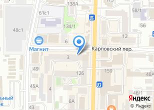 Компания «Артел» на карте