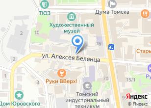 Компания «ТомскСтройСанмар» на карте