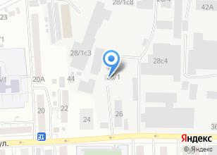 Компания «Коракс» на карте
