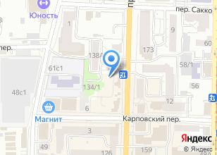 Компания «Чашма» на карте