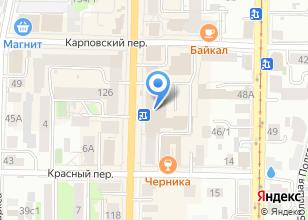 Компания «SibMart» на карте