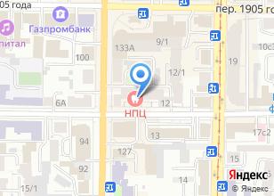 Компания «Профсоюз работников потребительской кооперации и предпринимательства» на карте