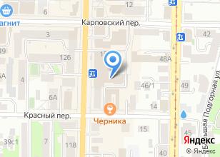 Компания «ХАРИЗМА» на карте