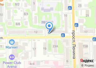 Компания «Техномед» на карте