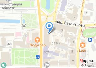 Компания «Элит Оптика» на карте