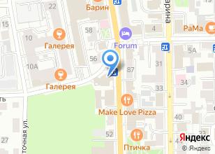 Компания «People`s» на карте