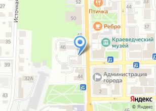 Компания «2mid» на карте