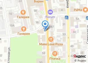 Компания «BURGER KING» на карте