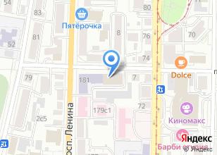 Компания «Кабинет медицинского массажа» на карте
