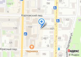 Компания «Тари» на карте