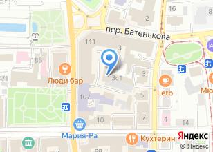 Компания «Госстройнадзор» на карте