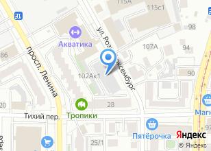Компания «Абсолют-сервис» на карте