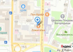 Компания «Елан» на карте
