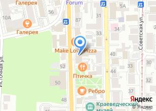 Компания «Мое кафе» на карте