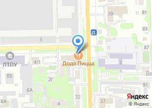 Компания «Додо Пицца» на карте