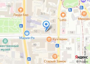 Компания «Студия Путешествий» на карте