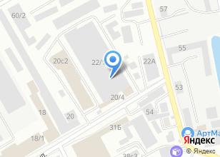 Компания «Мой любимый» на карте