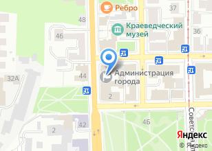 Компания «Администрация г. Томска» на карте