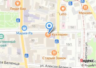 Компания «Кухтерин» на карте