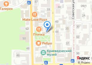Компания «Kafedra» на карте