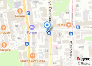 Компания «Пекарья» на карте