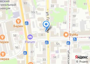 Компания «Bon cafe» на карте