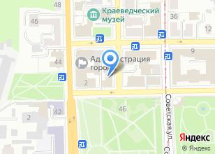 Компания «Департамент финансов Администрации г. Томска» на карте