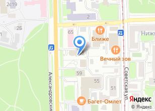 Компания «MoDeVie» на карте
