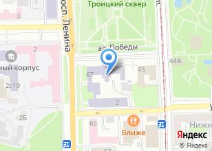 Компания «СФТИ» на карте