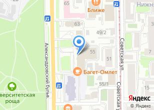 Компания «ТЦ Сибирь» на карте