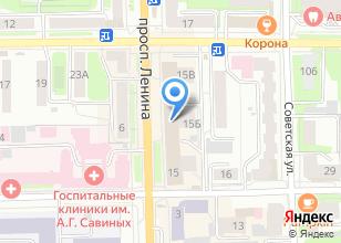 Компания «PrintLab» на карте